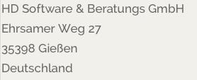 HD Software & Beratung GmbH